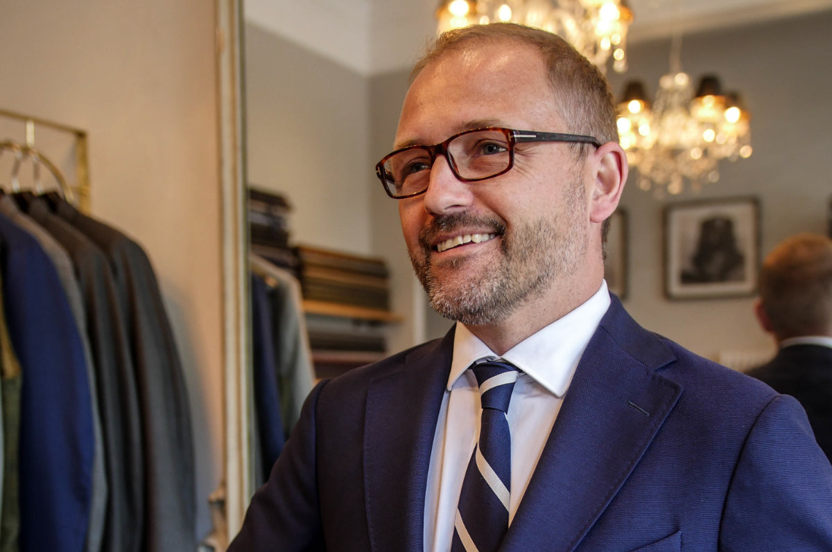 Austen Pickles - Tailor Made Suits from Norton and Townsend