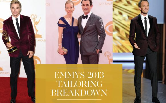Emmys 2013 – Is this the end of the conventional black tuxedo?
