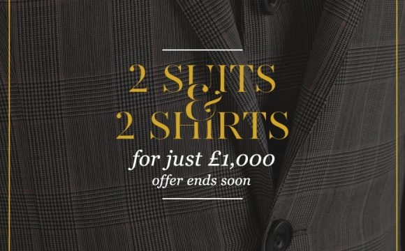 Offer ends soon – 2 suits and 2 shirts for just £1000
