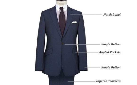 Details of a Bespoke Suit