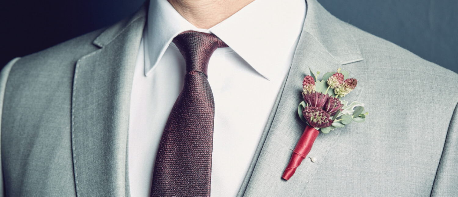 Handcrafted grooms suits