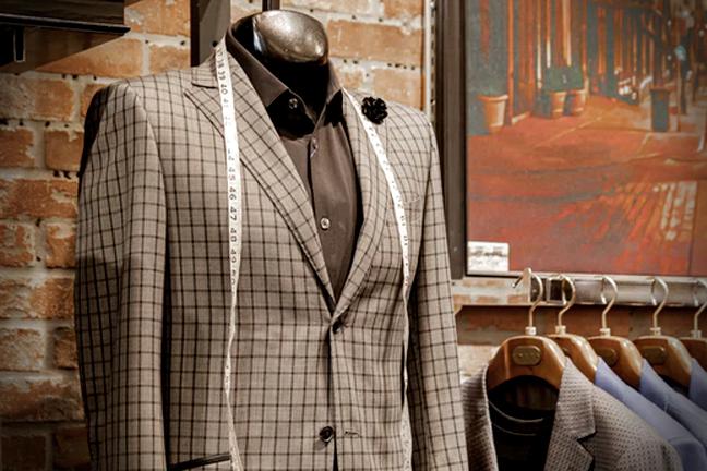 bespoke tailors studio and workshop